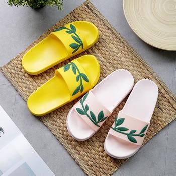 Sheep Lemon Cherry Slide Sandals Cartoon Fruits Women Slippers Summer Slides Ice Cream Home Slippers Women Shoes Flip Flops 5