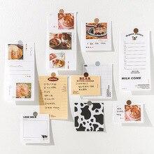 Stationery Notebook Memo-Pads JIANWU Kawaii Note-Paper Scrapbooking School-Supplies 60-Sheets