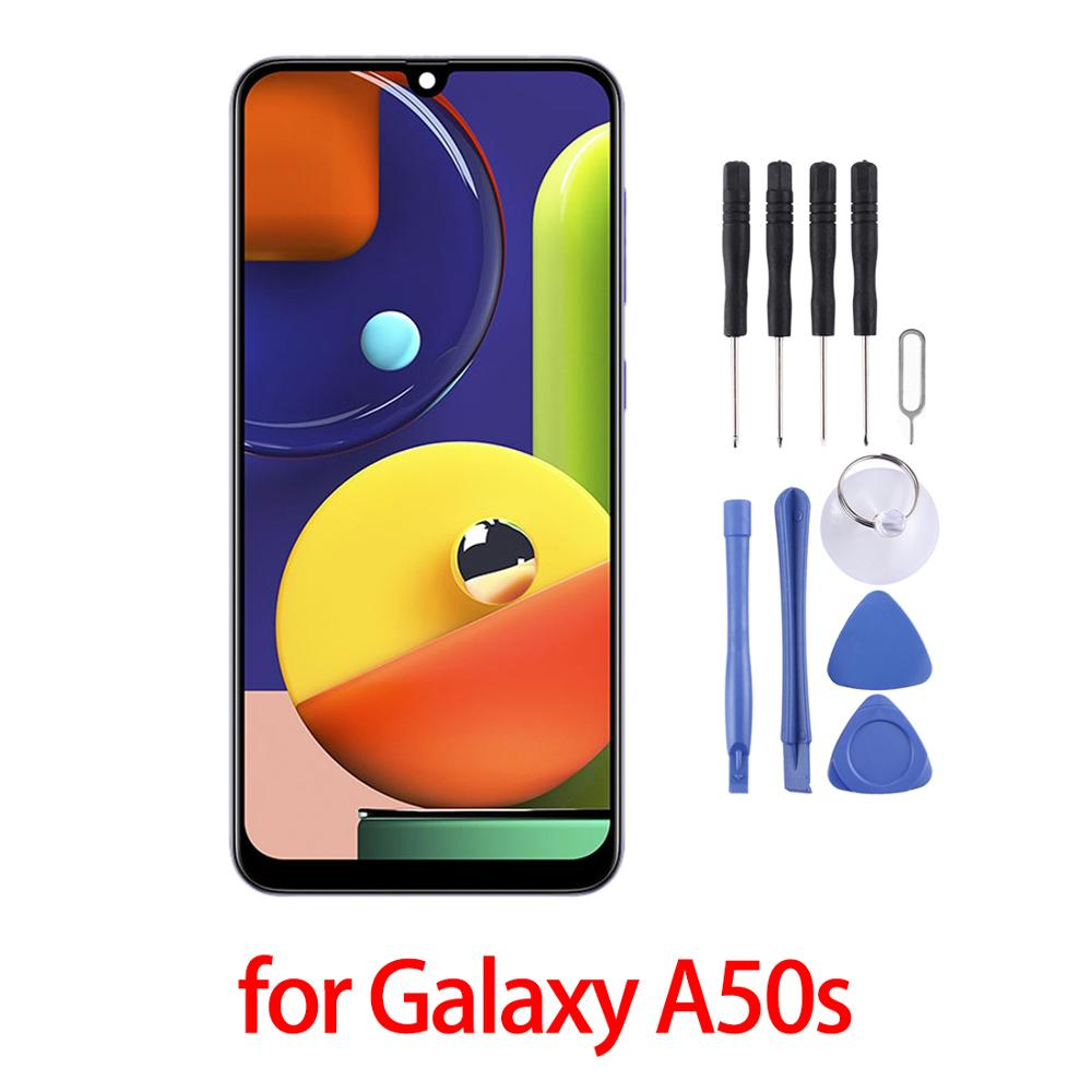 Original AMOLED Display For Samsung Galaxy A50s LCD Touch Screen Digitizer Assembly For Samsung Galaxy A50s lcd