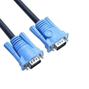 Кабель VGA 3 + 6, 1,5 м, 1,8 м, 3 м, 5 м, 10 м, 15 м, 20 м, VGA-VGA кабель для HD телевизора, ПК, ноутбука, tv Box, проектора, монитора, кабель vga