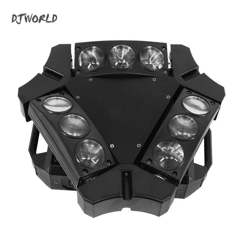 Djworld  Mini LED Beam 9x10W RGBW 4IN1 Moving Head Light DMX 512 Stage Effect Lighting For DJ Disco Party High Power|Stage Lighting Effect|   - title=