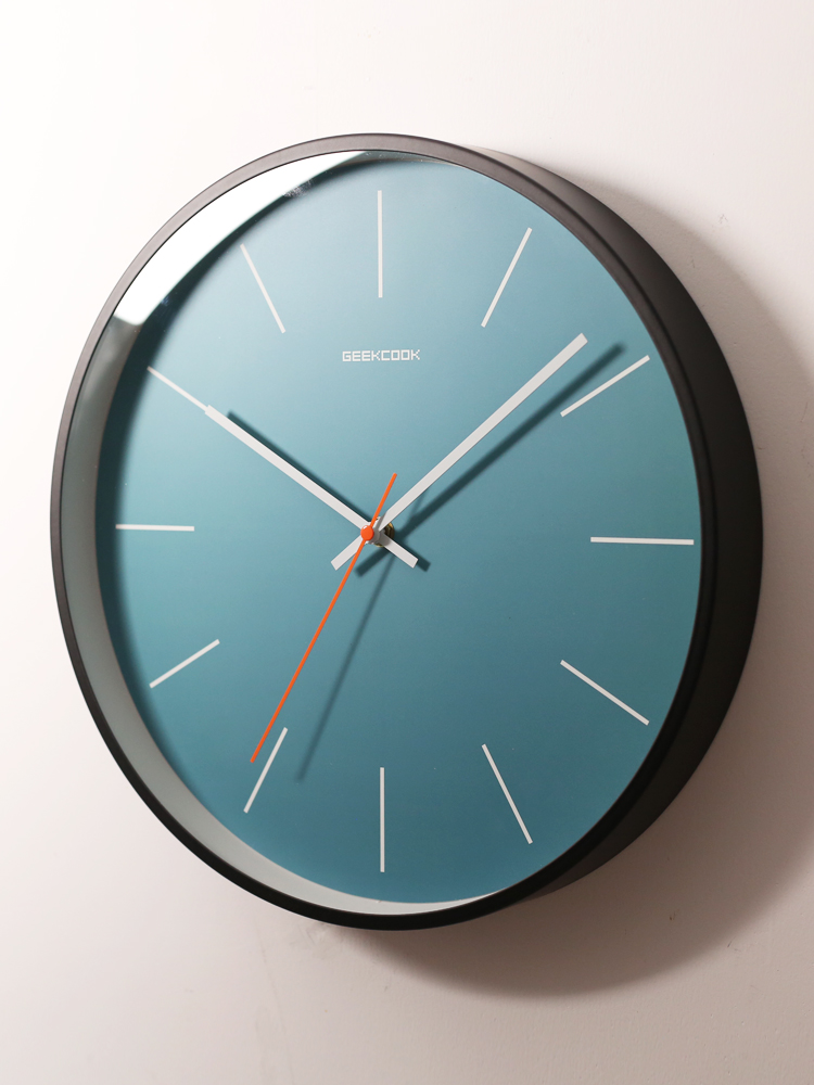Silent Modern Design Wall Clock Automatic Luxury Creative Vogue Wall Clock Simple Living Room Reloj Pared Wall Watch JJ60WC