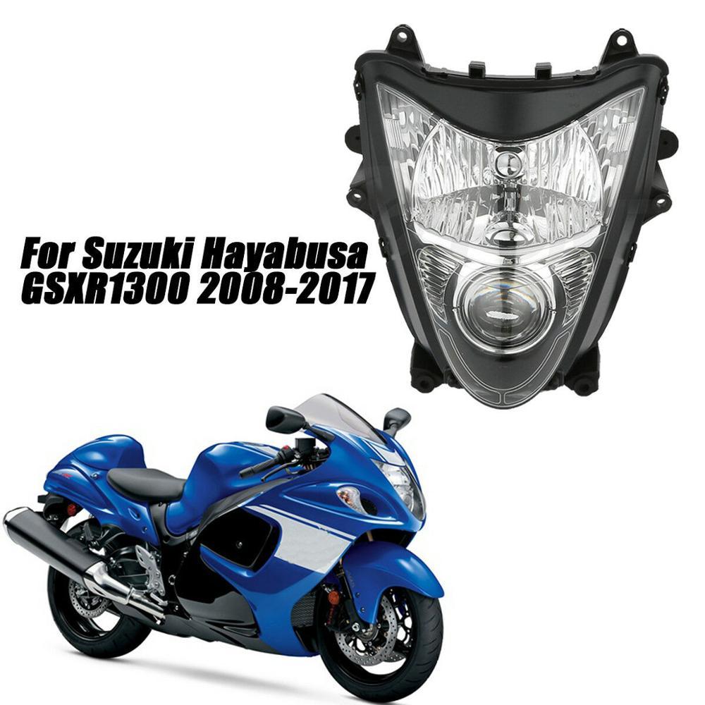 Motorcycle Headlight Clear Headlamp For SUZUKI GSXR GSXR1300 Hayabusa 2008-2017 09 10 11 12