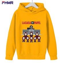 Children's Print Hoodie Boys Girls Spring Long Sleeve Hooded Sweatshirt Children's Clothing Hoodie Streetwear