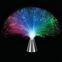 Linterna de fibra óptica LED colorida, lámpara de noche de ambiente nocturno con batería, suministros para el hogar, Festival, atmósfera, boda
