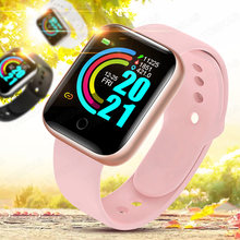 Smart Uhr Männer Frauen Smartwatch Kinder 2020 Android Handgelenk Sport Uhr Armband Fitness Armband Tracker Hören Rate Schlaf Monitor
