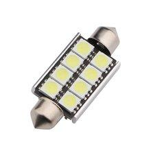 Напрямую от производителя продажи 5050 39 размер 41 размер 8SMD декодирование двойной острый номерной знак свет дверь лампа для чтения