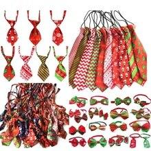 (120 pc/lot) coloré animal de compagnie chien chiot cravate cravates chat cravates chien toilettage fournitures pour petit moyen grand chien 6 modèle Y102