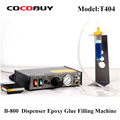 Novecel B-800 Semi-Auto Dispenser Adesivo Colla Liquida Dispenser Epossidica Macchina di Rifornimento Della Colla Per Il Telefono Telaio PCB Saldatura di Riparazione