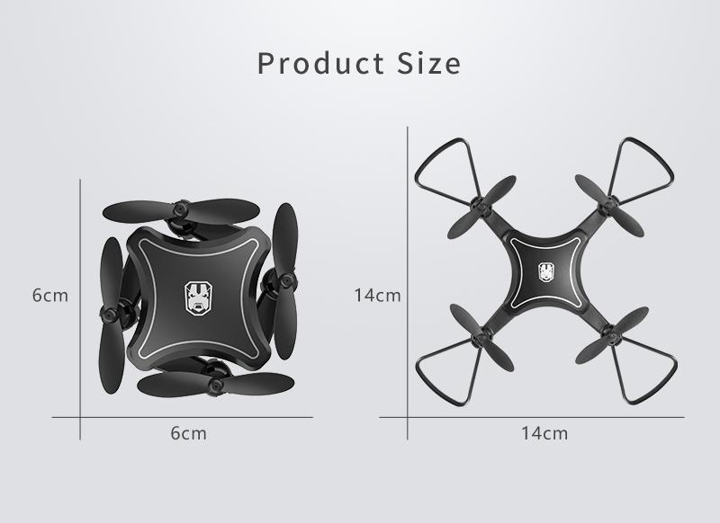 XKJ KY902 Mini Drone Quadcopter con cámara 4K HD 21