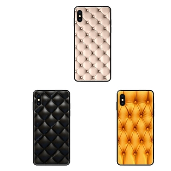 Sofa Texture Leather Color Print Petty Gain For iPhone 11 12 Pro 5 5S SE 5C 6 6S 7 8 X XR XS Plus Max Diy Colorful Printing image