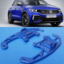 For Volkswagen VW T ROC R 2019 Aluminum Car Steering Wheel Shift Paddle Shifter Gear Extention