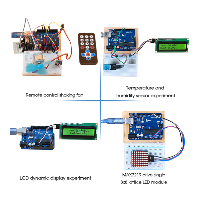 Arduino Starter Kit With 30 Courses LCD Tutorial For Arduino UNO R3 2