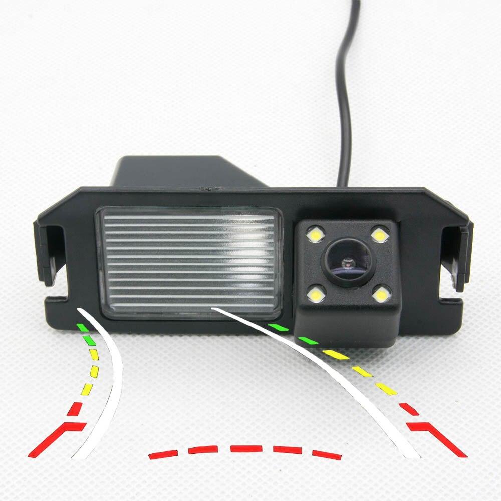 Auto wasserdichte Dynamische Flugbahn Tracks rückansicht Kamera Für Hyundai I30 Rohens Solaris Genesis Coupe Backup Reverse Kamera
