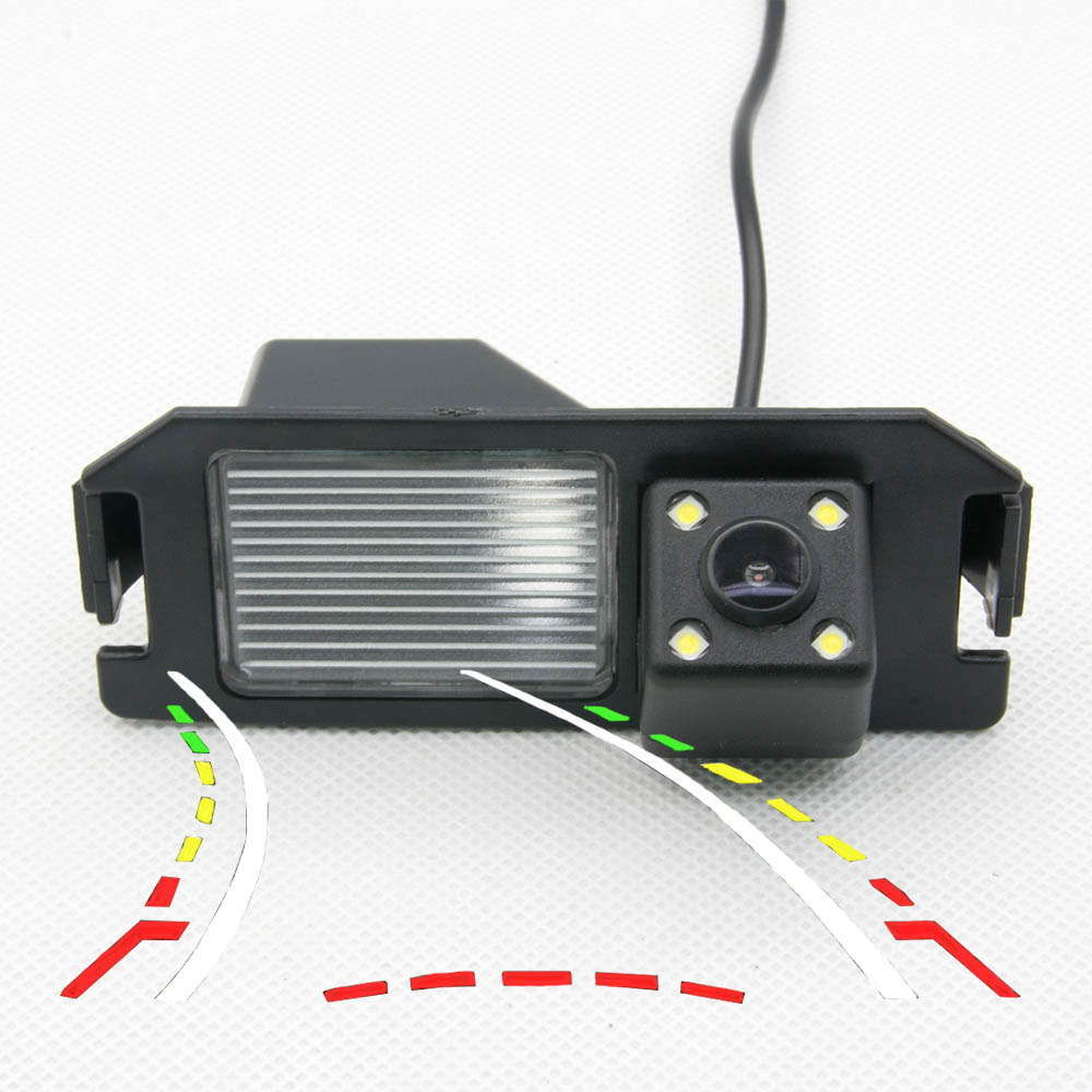 Car Waterproof Dynamic Trajectory Tracks Rear View Camera For Hyundai I30 Rohens Solaris Genesis Coupe  Backup Reverse Camera
