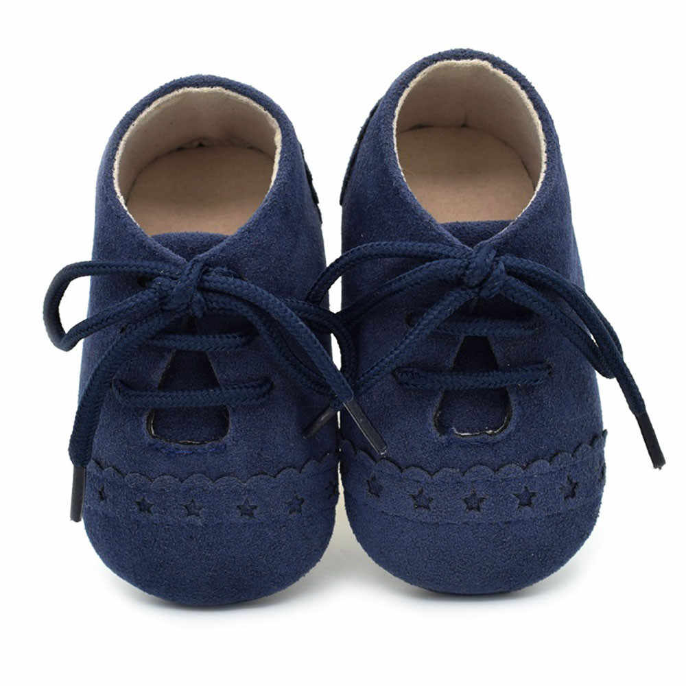 2019 Baby Shoes Toddler Shoes Sneaker Anti-slip Soft Sole Lace Up Shoes multi color First Walkers shoes Sapato Infantil Menino