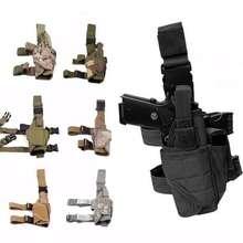 Тактический Торнадо ножная кобура Glock страйкбол пистолет падение ноги кобура Чехол Регулируемый Волшебный ремень кобура для универсального пистолета