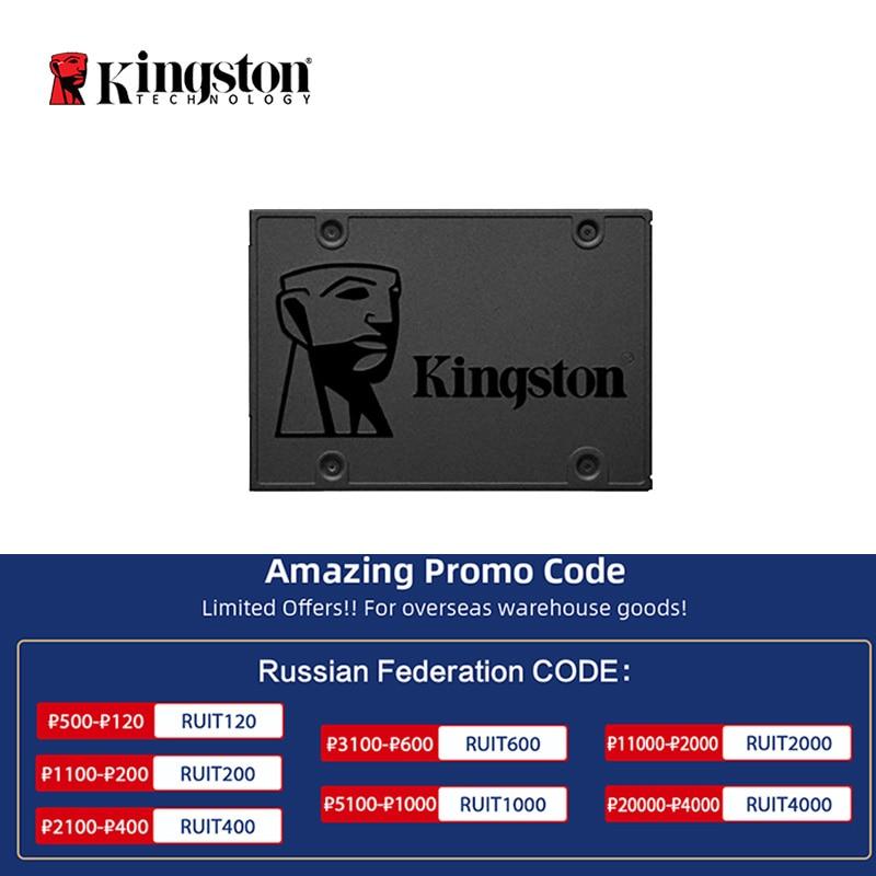 Kingston – disque dur interne SSD, SATA 3, 120 pouces, A400, avec capacité de 240 go, 480 go, 2.5 go, 960 go, 500 go, 1 to, pour ordinateur portable, Notebook