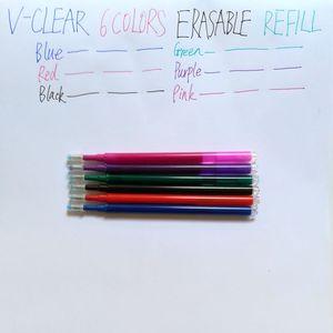 Image 2 - Penna cancellabile Cancelleria Ricarica Attrito Gel Penna Forniture Per Ufficio Disegno Frixion Penna Refill Penna Studente 6 Colori 0.7 millimetri Penna Frixion