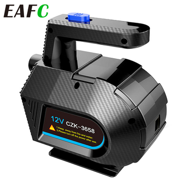 EAFC Electric Inflator Pump + Compression Air Pump for Inflatable Bed Couch Pool Raft Boat Toy and Storage Compression Bag