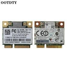 Rtl8191se metade pci-e módulo de cartão sem fio wifi fru 43y6553 60y3177 para ibm lenove thinkpad x200s x201 802.11bgn acessórios