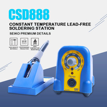 Lead Free Soldering Station 70W Power Adjustable Constant Temperature Electric Soldering Iron Pure Copper Transformer Fx-888