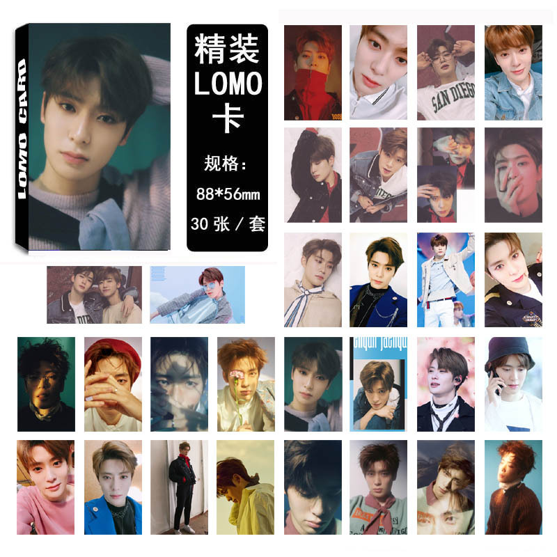 30Pcs/set K-POP NCT 127 JaeHyun Photocard Good Quality Album BOSS K-pop NCT127 DREAM HD Lomo Cards Fashion New Arrivals