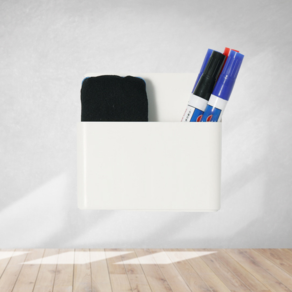 Rack Anti Slip Dry Eraser Board Pen Box Magnetic Tray Meeting Room Marker Holder Wall Mount Whiteboard Office Writing Workplace