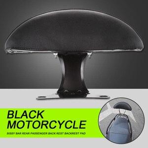 Image 2 - Almohadilla trasera para asiento de pasajero de motocicleta almohadilla de respaldo Universal para Honda, motocicleta, Suzuki, Scooter, Atv, Quad, Etc. Accesorios de motocicleta
