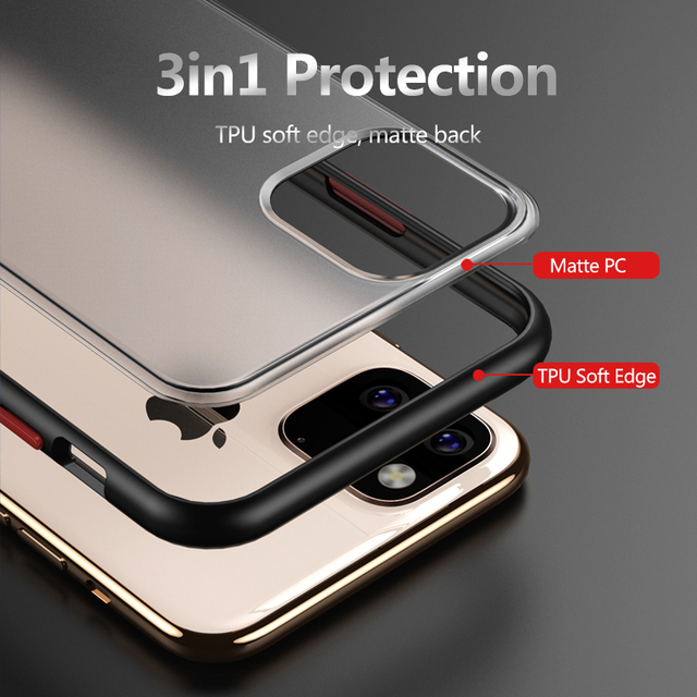 Shockproof Cover for Apple iPhone 11 Case, Military Grade