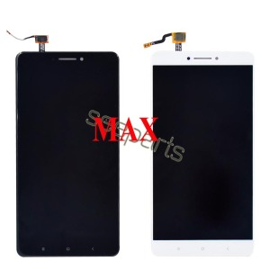 Image 2 - Voor Xiaomi Mi Max 3 Lcd Touch Screen Digitizer Vergadering Voor Xiaomi Mi Max 2 Lcd Max3 Screen Vervanging zwart Wit