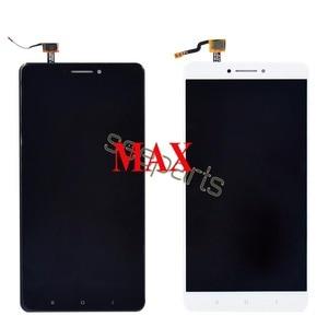Image 2 - Voor Xiaomi Mi Max 3 Lcd Touch Screen Digitizer Vergadering Voor Xiaomi Mi Max 2 Lcd Max3 Screen Vervanging zwart Wit
