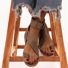 Women sandals 2020 summer women flats sandals buckle ladies sandals slippers beach shoes sandalias mujer sapato feminino