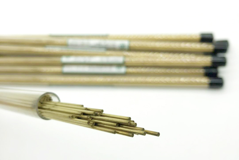 Brass Electrode Tube 2.2mm*400mm Multi Hole For EDM Drilling Machine