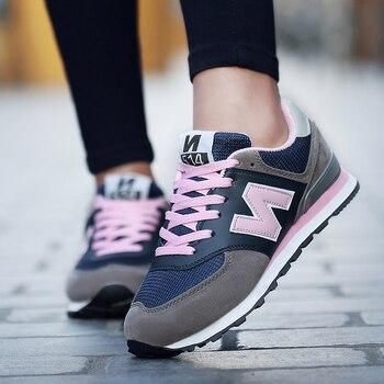Hot Sport Shoes Woman Running Shoes Women Outdoor Autumn Comfortable Sneakers Women Walking Jogging Trainers zapatos mujer