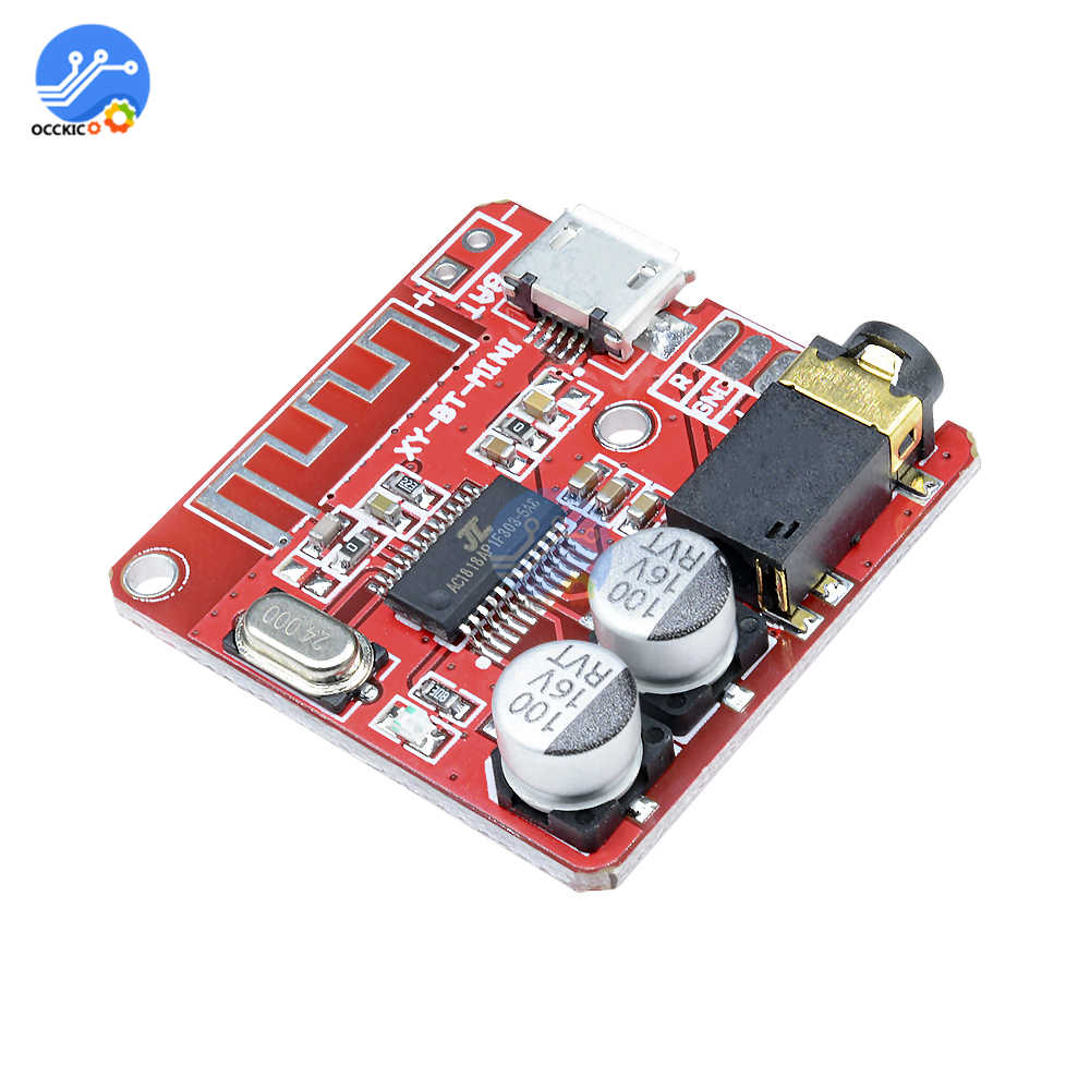 Audio MP3 Decoder Module Bluetooth Stereo 4.1 Decoder USB Isolator MP3 Module Audio Spectrum Analyzer FM Radio Speaker Converter
