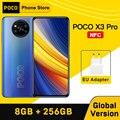 Глобальная версия POCO X3 Pro NFC 8GB 256GB Смартфон Snapdragon 860 33 Вт Quad AI Камера 120 Гц DotDisplay 5160 мА/ч, Батарея
