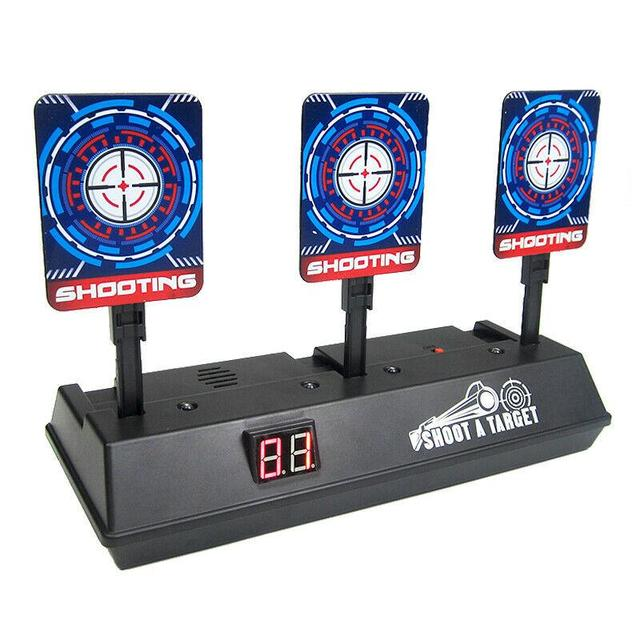 1 Set Shooting Target Useful Scoring Game Target Electric Target Toy Sports Accessories For Party Outdoor Fun Games Toys
