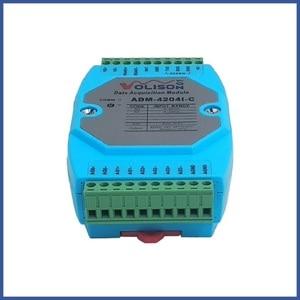Image 2 - MODBUS RTU Módulo de salida analógica ADM 4204I C, 4 canales, 485 a analógica, 4 20mA