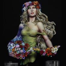 1/10 Resin bust model kit Spring Girl unpainted
