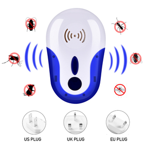 Image 3 - Ultrasonic Mice Repeller Electronic Ultrasound Mouse Control Rejector Anti Mosquito Repellent For Cockroach Bug Rat Rejection