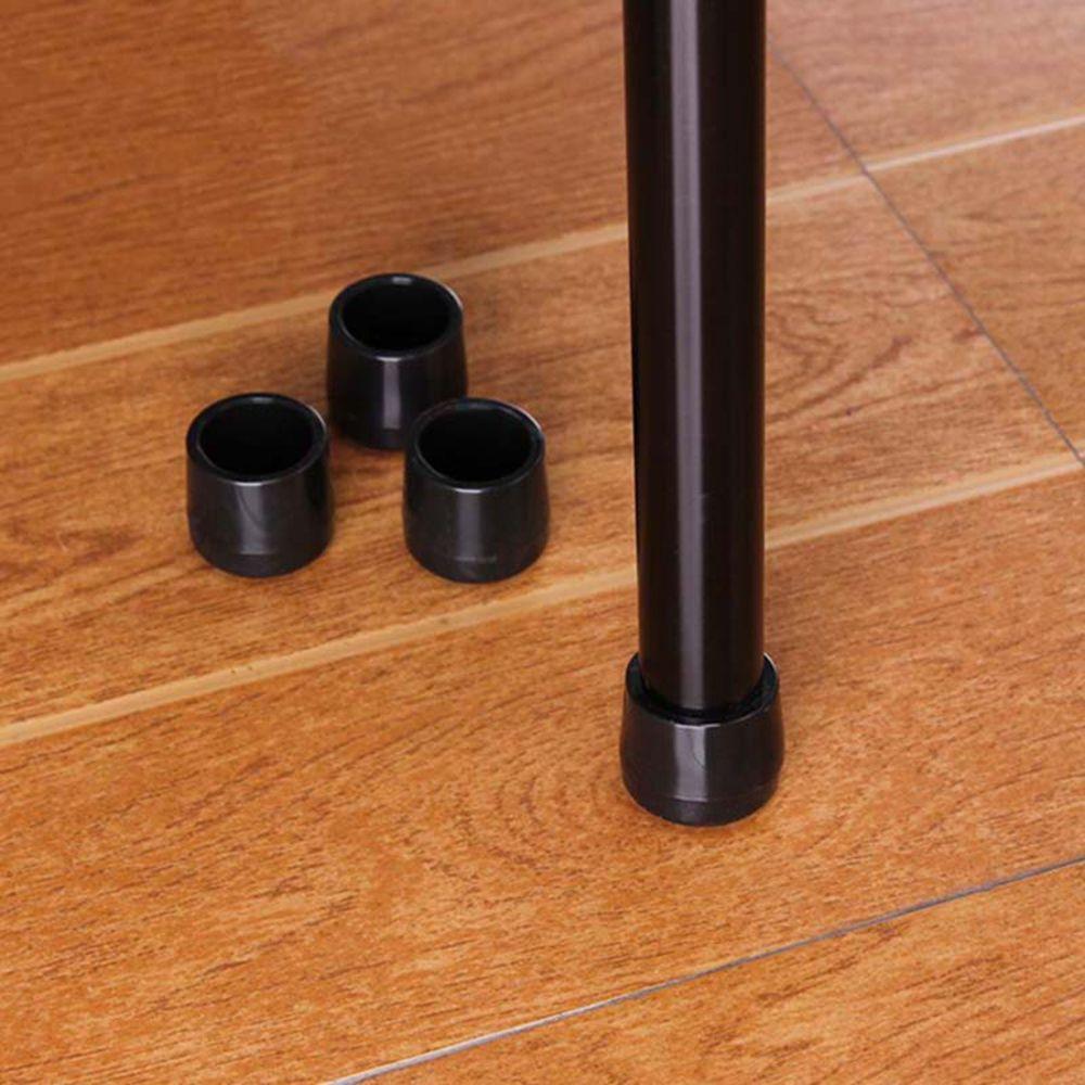 4 шт столешница, защита для ног, мебель, черный резиновый стул, Накладка для ног, набор наконечников, PE покрытие для ног