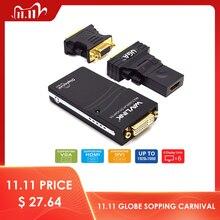 Wavlink USB 2.0 naar VGA/DVI/HDMI Video Grafische Adapter Meerdere Monitoren Display 1920*1080 Verlengen /spiegel Modus Ondersteunt Windows