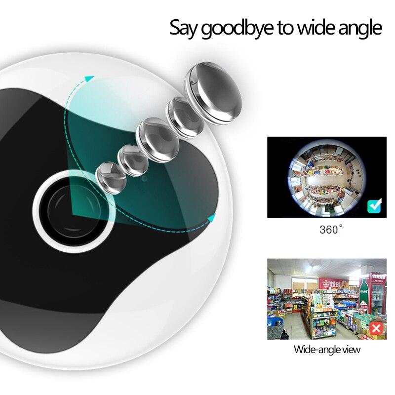 360 Degree VR Camera Home Security Wide Angle Panoramic 960P  Wireless WiFi  Smart IP Camera Surveillance Cameras