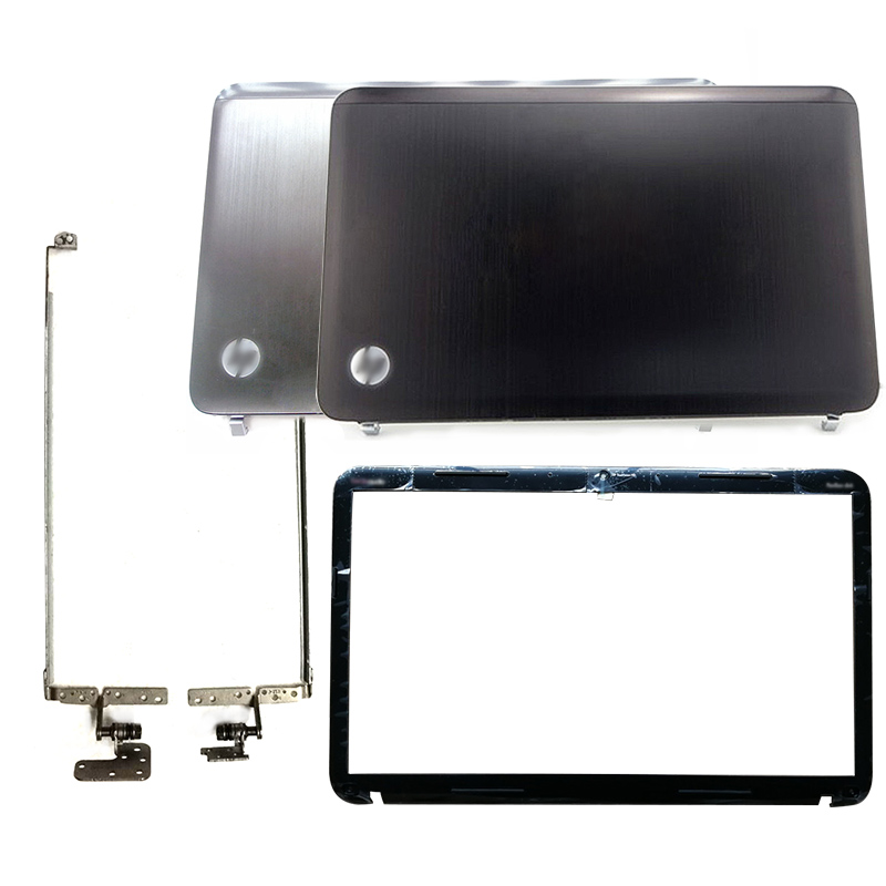 NEW Laptop LCD Back Cover/Front Bezel/Hinges For HP Pavilion DV6 DV6-6000 Black 640412-001 Silver 650796-001 665289-001