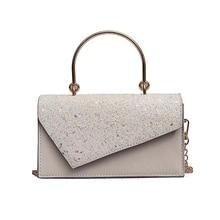 JULIE Fashion Brand Women's Shoulder Bag Aristocratic Temperament lady handbag New Sequin Crossbody Bag Luxury Design Clutch Bag