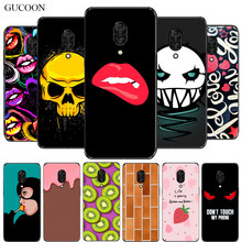 Gucoon Silicone Cover Voor Lenovo Z5 Pro 6.39 Inch Cartoon Case Soft Tpu Beschermende Phone Case Bumper Shell(China)