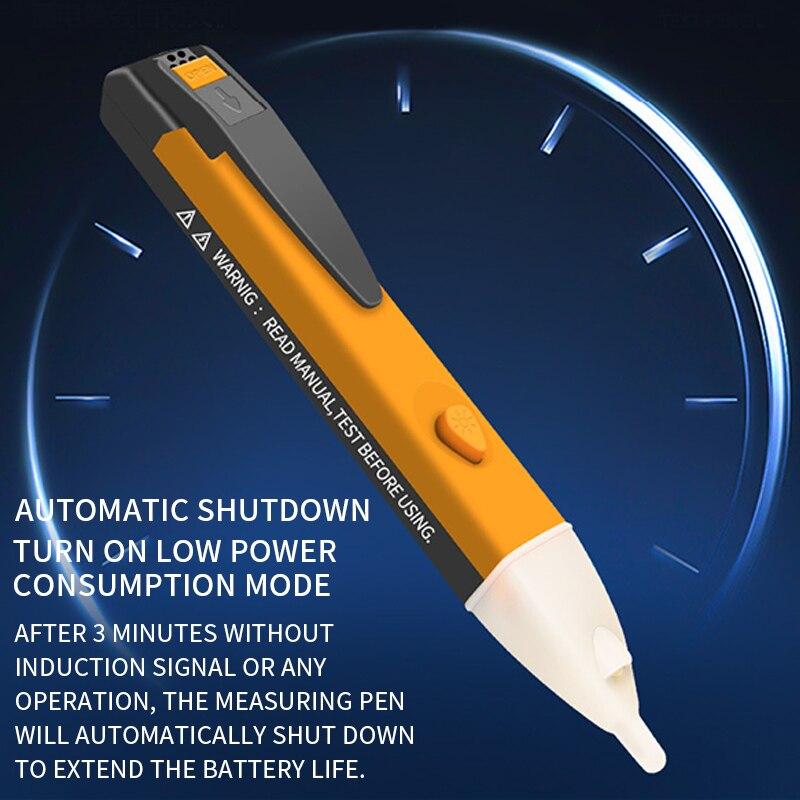 Цифровой карандаш-тестер электричества 90-1000 в 12-1000 в детектор нетестовый карандаш-тестер измеритель