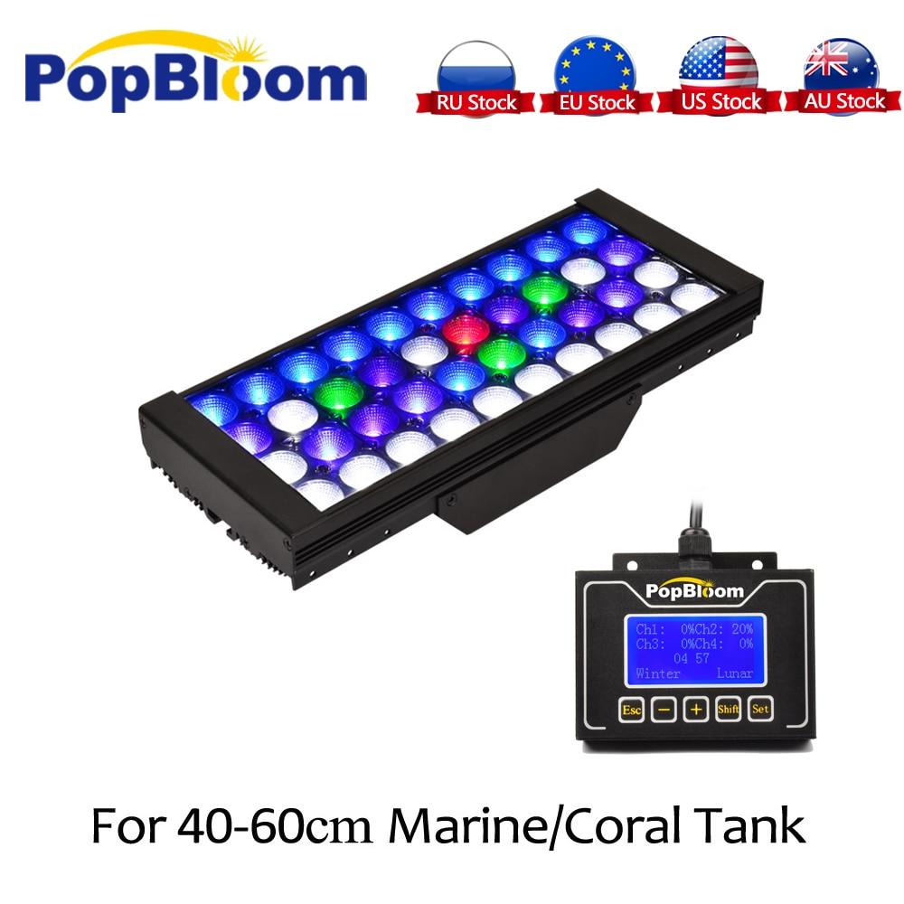 산호초 해양 스마트 컨트롤러에 대 한 dsuny 프로그래밍 가능한 디 밍이 가능한 led 수족관 빛 일출 일몰 달 밤 mj3bp1 시뮬레이션-에서조명부터 홈 & 가든 의  그룹 1
