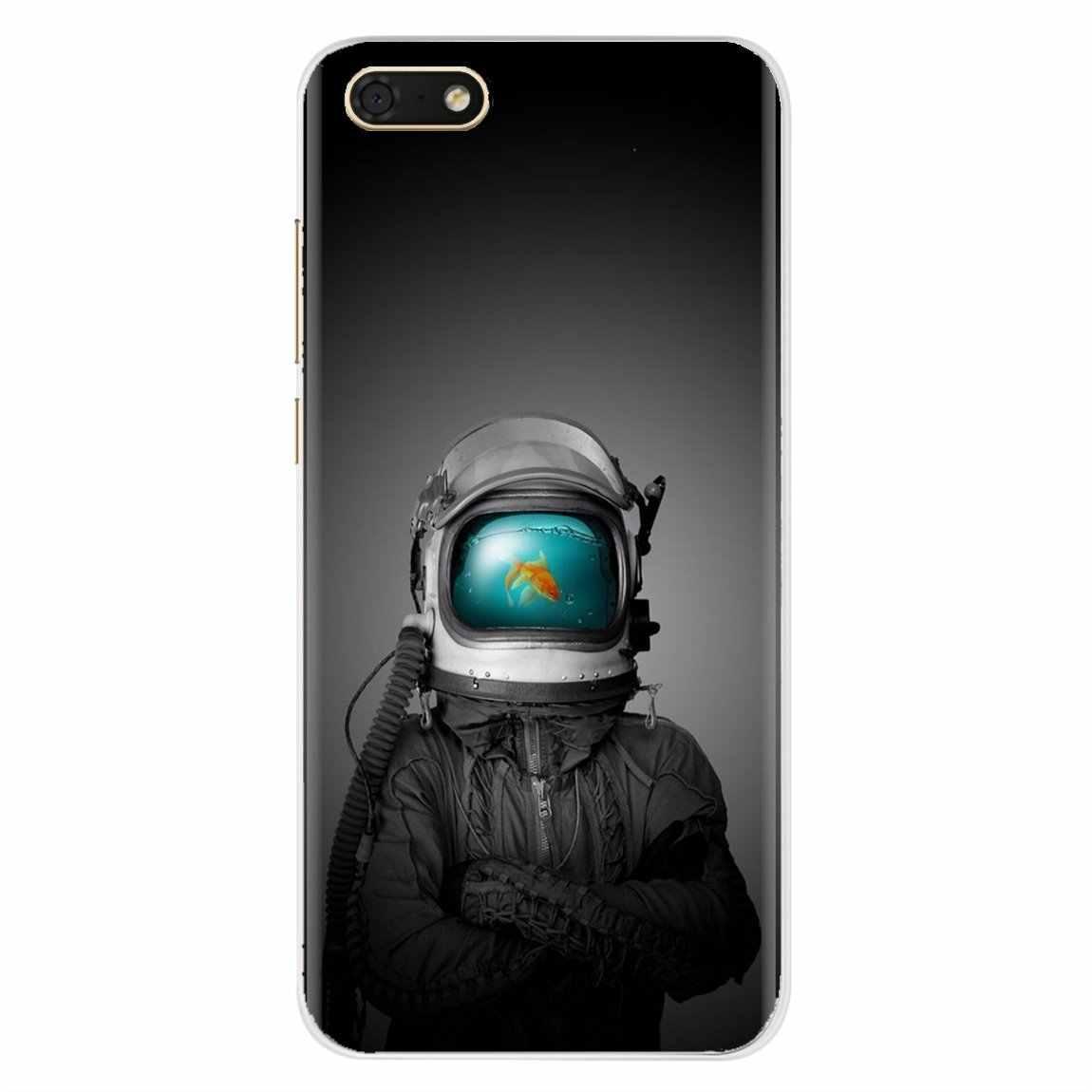 Bán Đen Hạc Trắng Đại Bàng Sói Xinh Xắn Silicone Ốp Lưng Điện Thoại Samsung Galaxy A10 A30 A40 A50 A60 A70 s6 Hoạt Động Note Edge